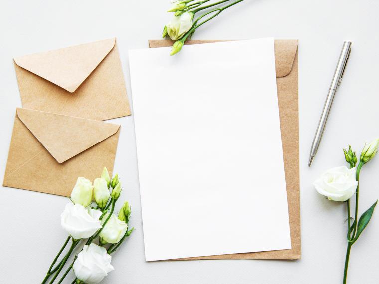 Papier und Karten für Ihre Geschenke