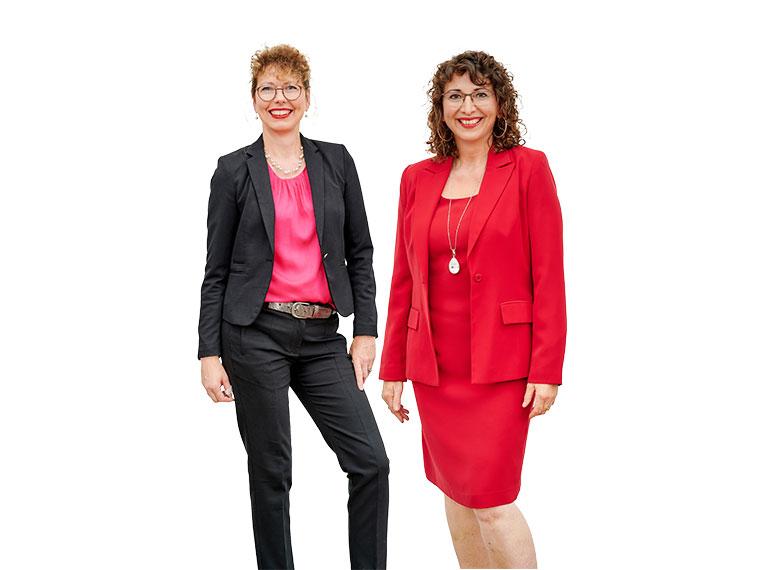 Ingrid Maierhofer und Karin Eidinger